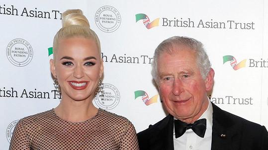 Katy Perry a princ Charles