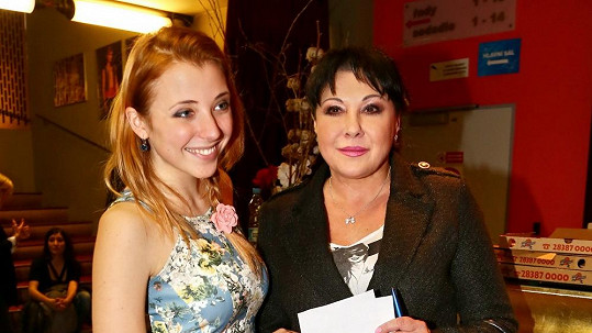 Anna Slováčková s maminkou Dádou Patrasovou