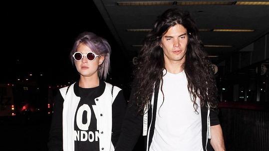 Kelly Osbourne a její přítel a budoucí manžel Matthew