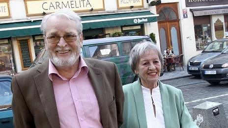 Vladimír Brabec s manželkou