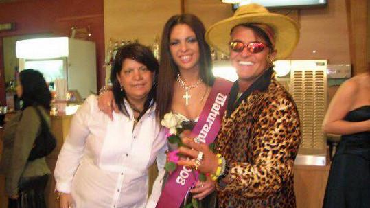 Dan s životní partnerkou Zuzanou Kardovou a její dcerou Terezou