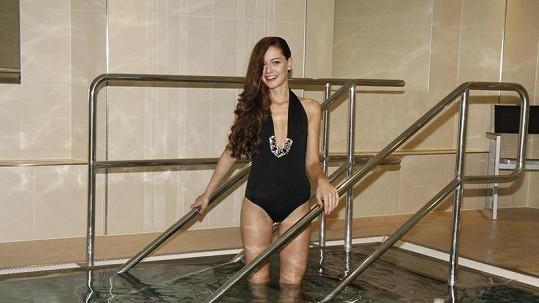 Tereza si veze na Miss Universe téměř společenské plavky.
