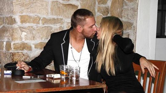 Kateřina Průšová s přítelem Davidem Martínkem to umí pořádně rozjet.