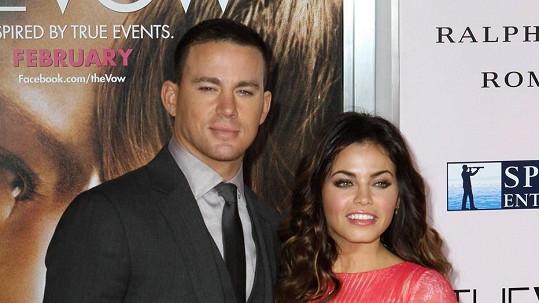 Channing Tatum s manželkou Jennou
