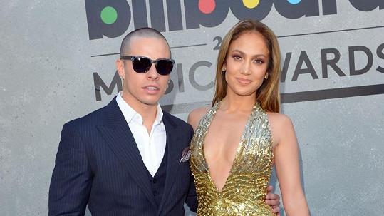 Jennifer Lopez se svým nastávajícím Casperem Smartem