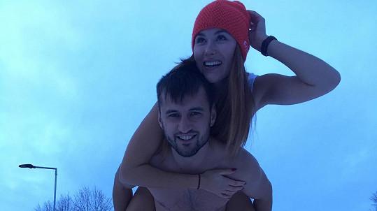 Jana Šišková s přítelem Davidem