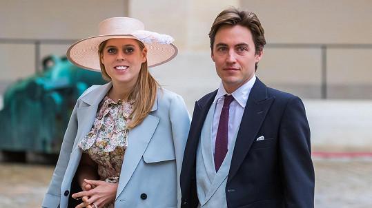 Princezna Beatrice a její manžel Edoardo Mapelli Mozzi se těší na svého prvního potomka.