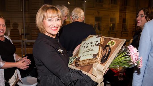 Petra Černocká oslavila sedmdesátiny.