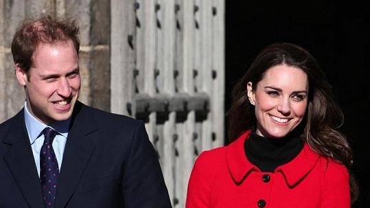 Princ William s Kate Middletonovou
