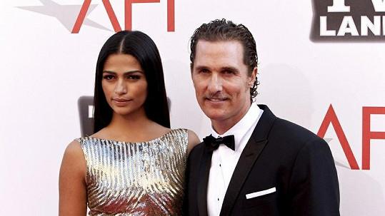 Matthew McConaughey a jeho manželka Camila mají dalšího potomka.