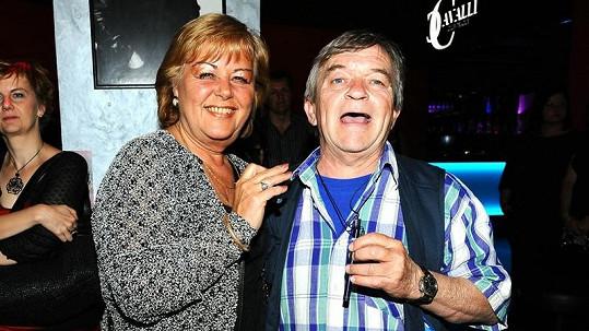 Roman Skamene s manželkou Renatou.