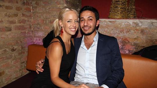 Kateřina Mátlová s přítelem Yohanem