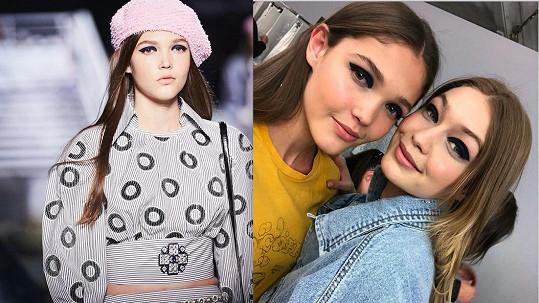 Tvrdíková na módní show Chanel