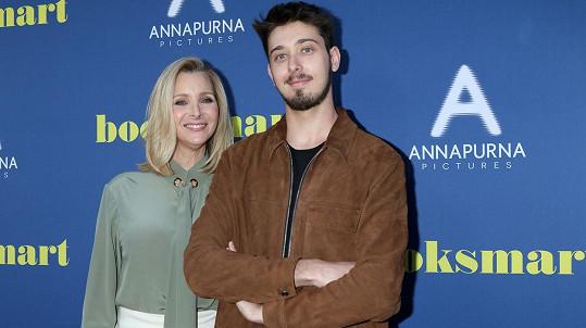 Lisa Kudrow se synem Julianem
