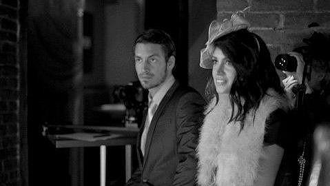 Martin Gardavský s přítelkyní Denise Bengosi ve filmu Closed relationship.