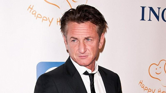 Hollywoodský herec Sean Penn