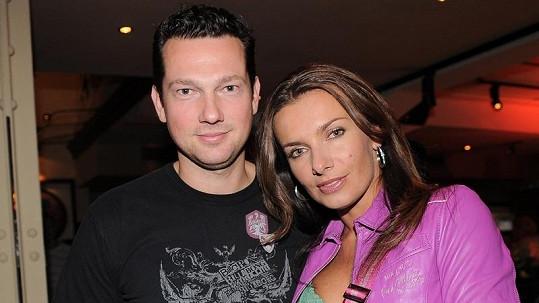 Alice Bendová s manželem Václavem Bendou na archivním snímku.