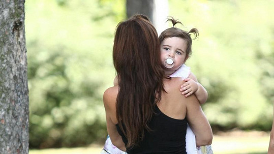 Sagvanova dcera je celý tatínek.