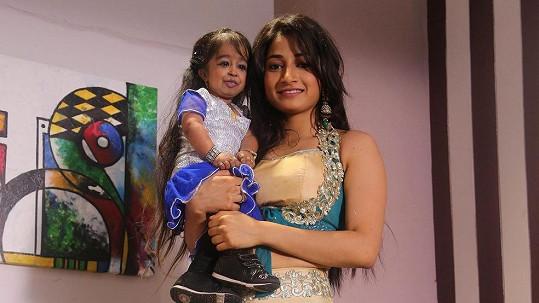 Jyoti Amge bude hollywoodskou hvězdou.