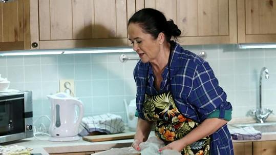 Hana Gregorová pekla letos cukroví jen v seriálu.