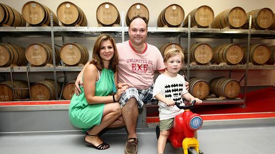 Martin Sobotka má s manželkou už tříletého syna.
