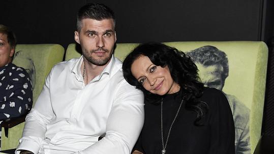 Radek Filipi a jeho patrně snoubenka Lucie Bílá