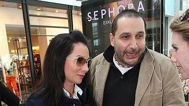 Sandra Nováková se snoubencem Janem Nejedlým.