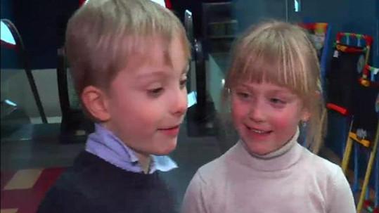 Pepíček a Madla půjdou v září poprvé do školy.