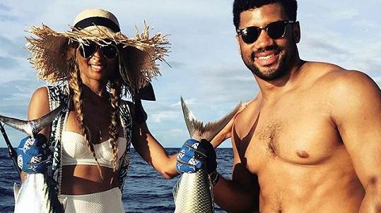 Ciara a Russell už jsou svoji.
