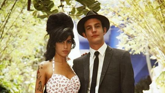 Blake Fielder-Civil se svou bývalou manželkou Amy Winehouse.