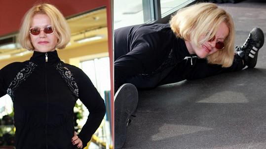 Jitka Asterová má v necelých 54 letech vynikající formu.