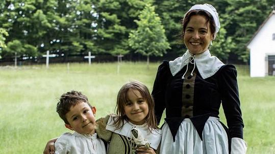 Kristýna Janáčková si zahrála macechu svého syna ve filmu o Janu Amosovi Komenském.