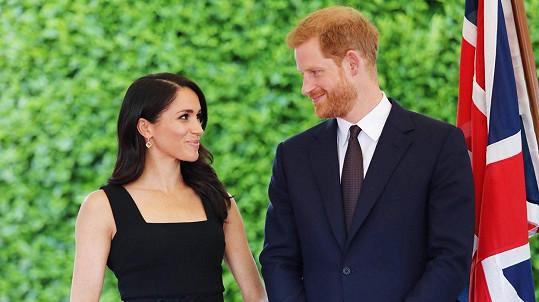 Meghan a Harry navštívili Irsko.