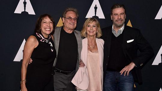 Hvězdy Pomády oslavily 40. výročí slavného filmu.