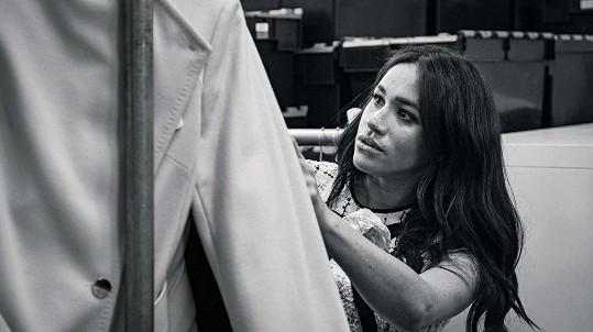 Meghan se stala editorkou Vogue.