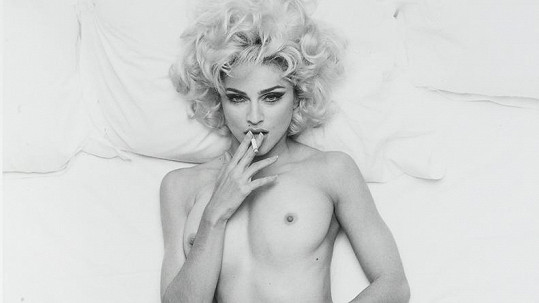 Madonna na sexy fotografii Stevena Meisela.