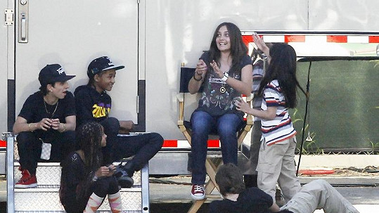 Děti Michaela Jacksona a Willa Smithe.