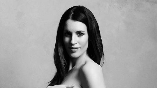Lucie Váchová úplně nahá.