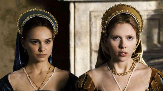 Obě herečky se sešly ve filmu Králova přízeň (2008).
