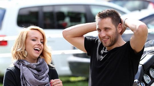 Martin Písařík s přítelkyní Michaelou