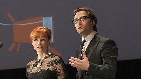 Aňa Geislerová s Jiřím Havelkou moderovala ceny Magnesia Litera.