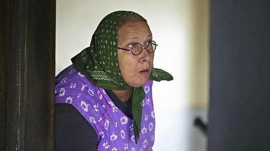 Jindřiška Kikinčuková alias Božena Němcová ve filmu Babovřesky