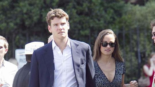 Pippa Middleton a Alex Loudon: Tenhle pár už je minulostí.