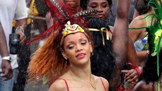 Rihanna to nedávno na Barbadosu pořádně rozjela.