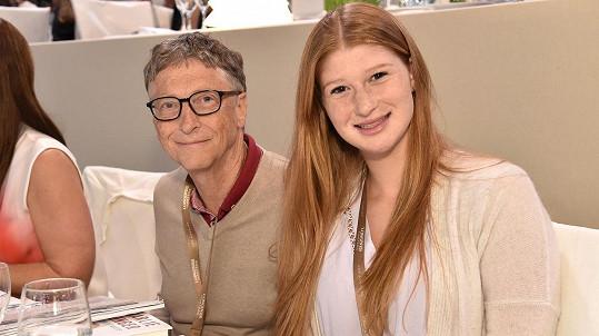 Bill Gates s dcerou Jennifer (2015)