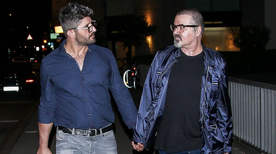 George Michael s přítelem Fadim Fawazem