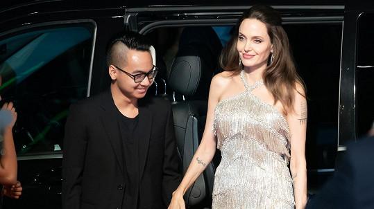 Angelina Jolie s nejstarším synem Maddoxem