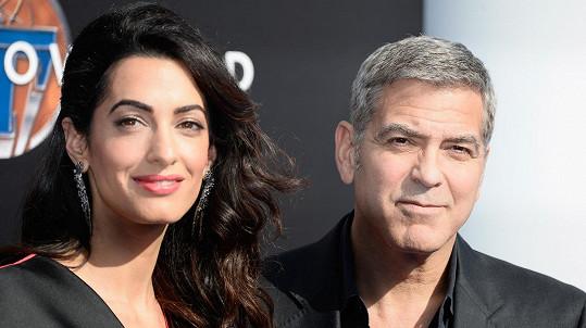 George a Amal pojali rekonstrukci ve velkém...