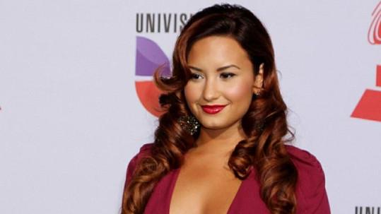 Herečka a zpěvačka Demi Lovato.