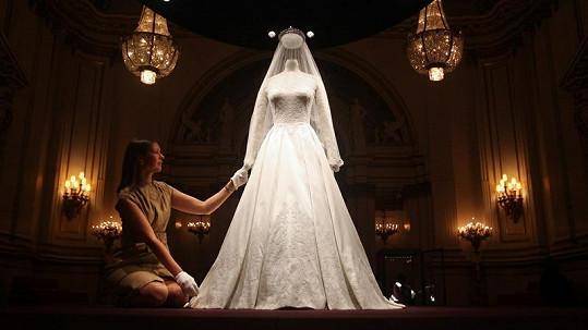Nádherné svatební šaty vévodkyně Kate.